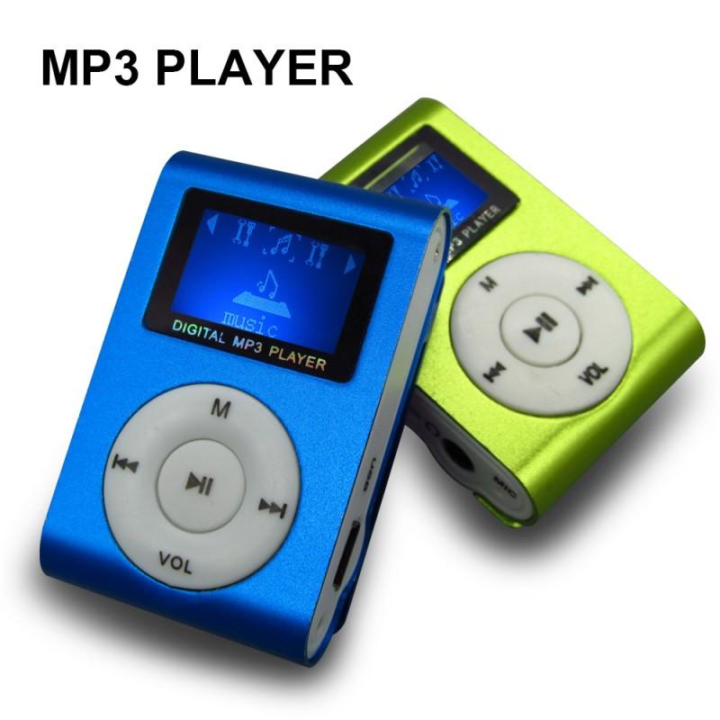 Reproductor MP3 Clip Pantalla LCD Radio FM